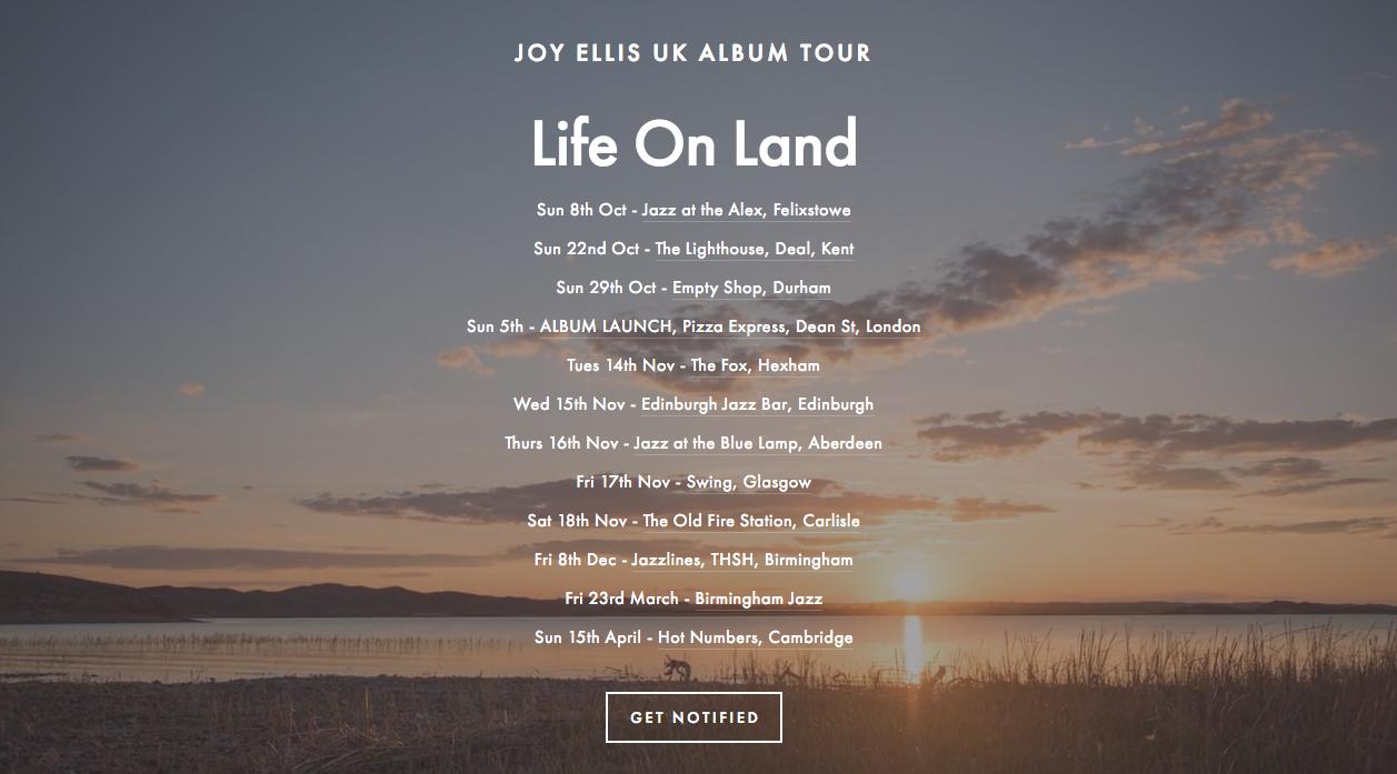 We made it!! — Joy Ellis