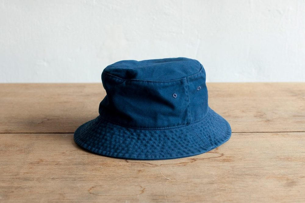 NBV5227 rinko blue cotton bucket price: HK$138 / NT$590 handpicked in korea  head size 56cm