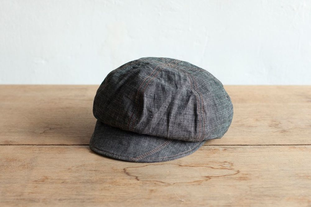NBV5228 cubika charcoal cotton newsboy cap price: HK$168 / NT$720 handpicked in korea  head size 56cm