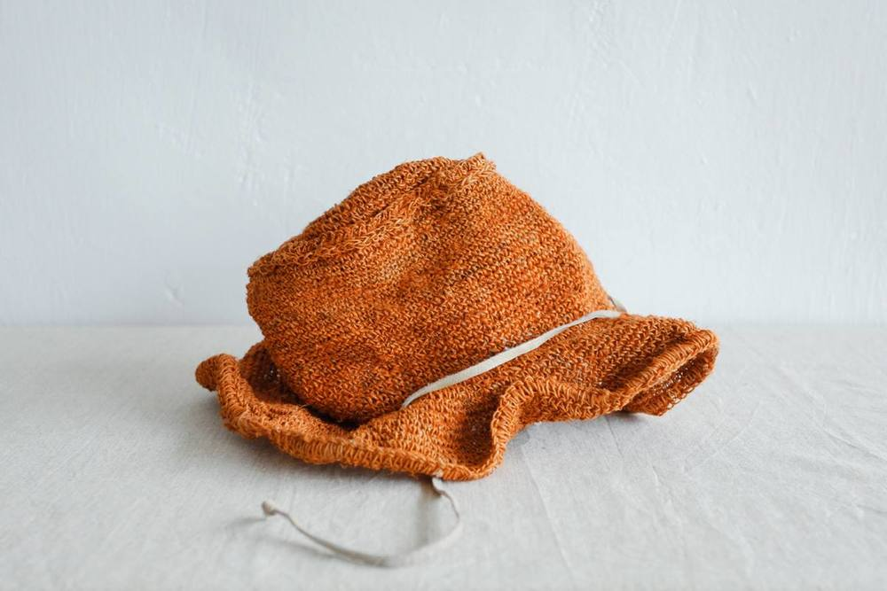 NBV5235 tanna sunset orange straw hat price: HK$168 / NT$720 handpicked in korea  measurement (cm) head size 56