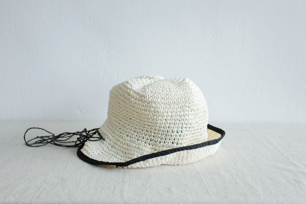 NBV5237 micco black brim cream straw hat price: HK$168 / NT$720 handpicked in korea  measurement (cm) head size 57