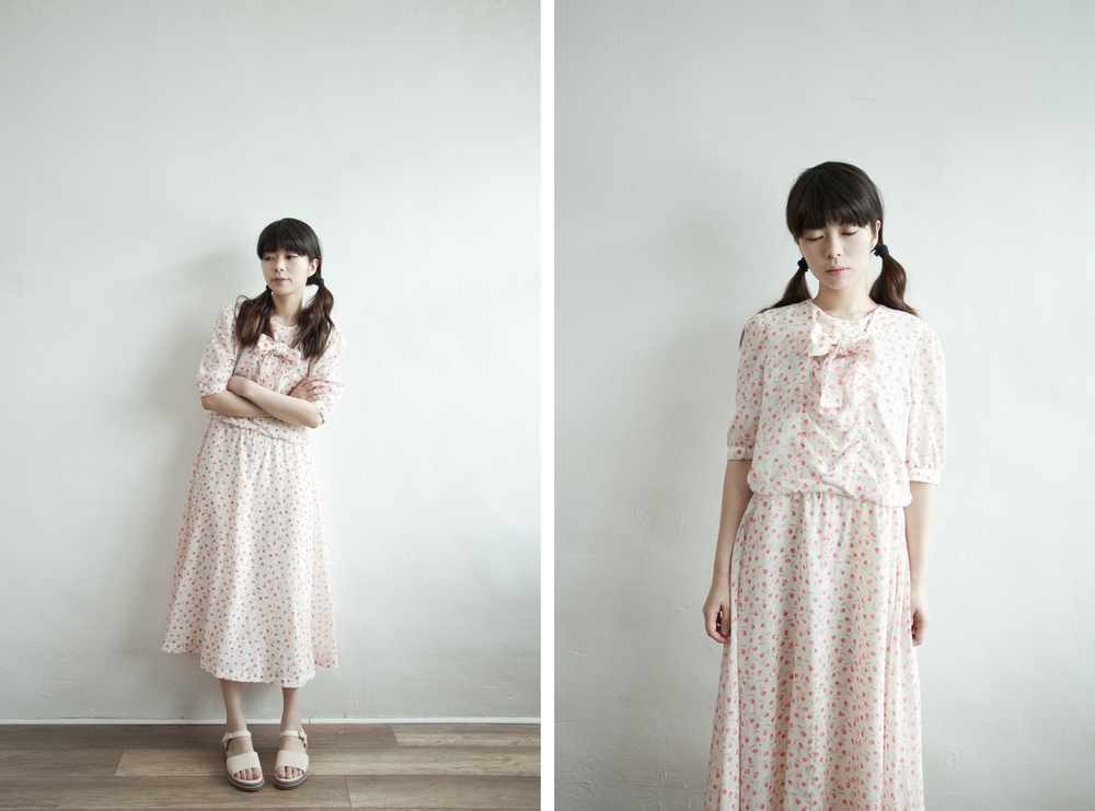 NBV5239 joan country tulip ribbon tied dress price: HK$328 / NT$1410 handpicked in japan