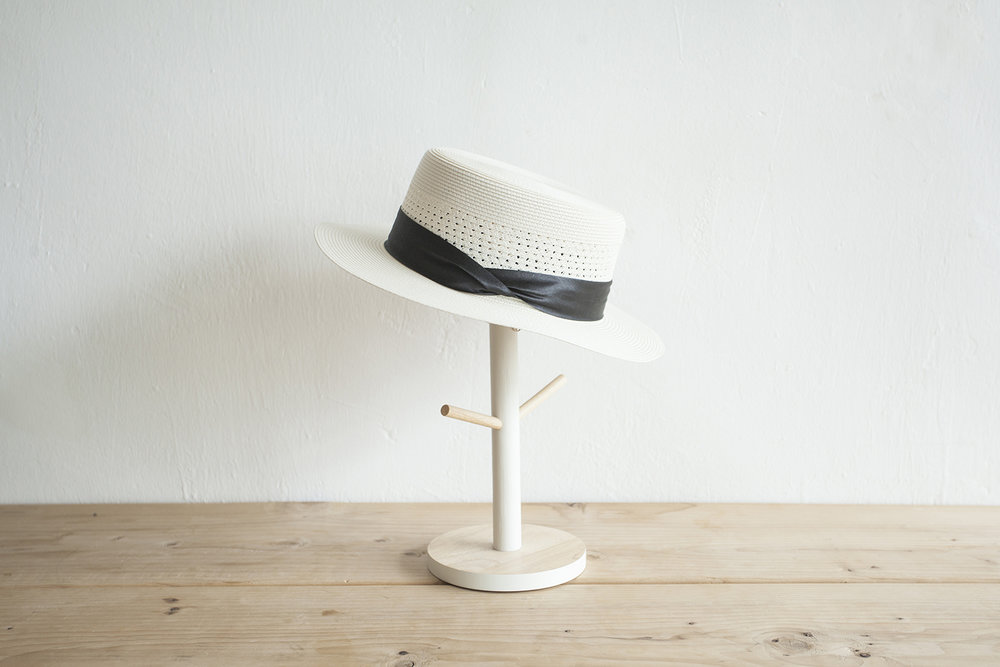 NBA1043 amelda summer boater hat early bird price:  HK$228 / NT$980    regular price: HK$268 / NT$1150    color: white    made in korea      measurement (cm)    head size 56