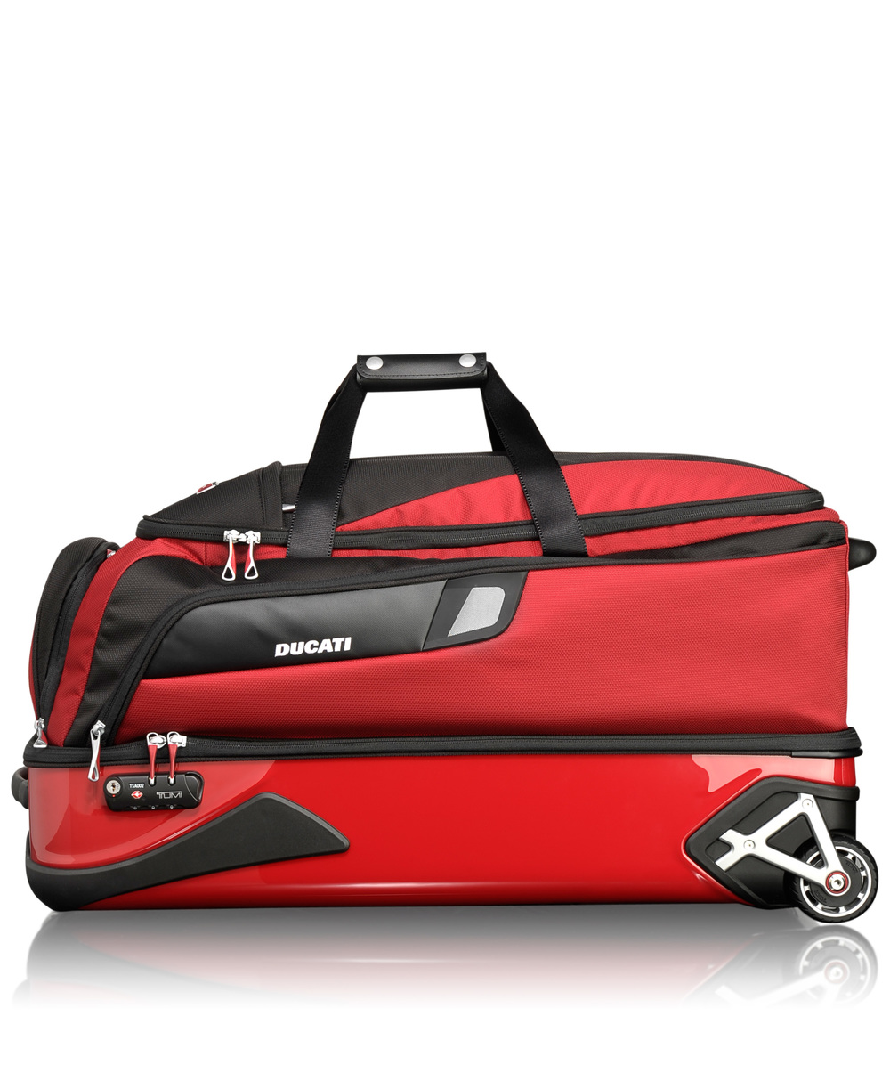 65140 Race Ducati Due Porte Collapsible Wheeled Duffel .jpeg