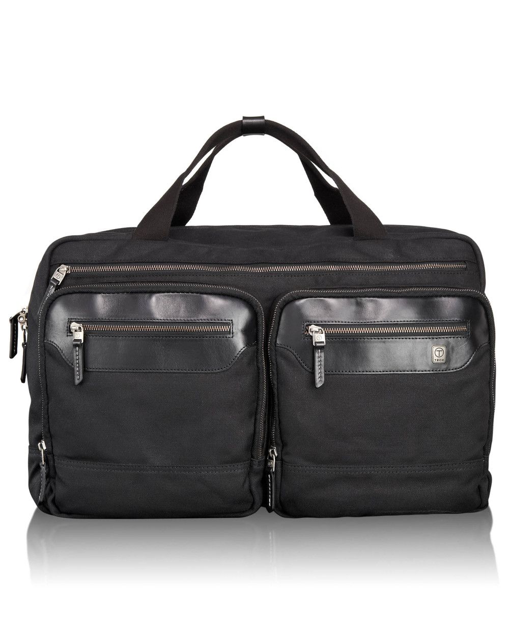 55152 Black T-Tech Forge Moore Soft Satchel  .jpg
