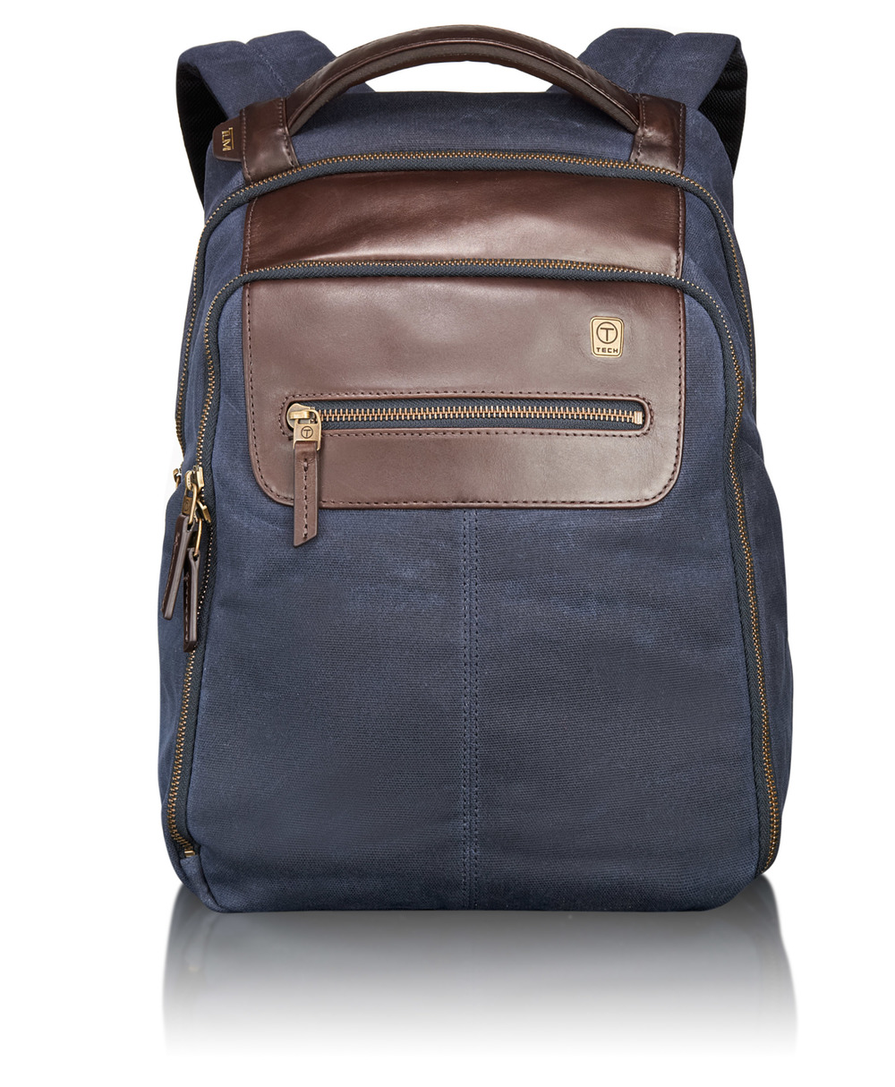 55180 Navy T-Tech Forge Steel City Slim Backpack .jpg