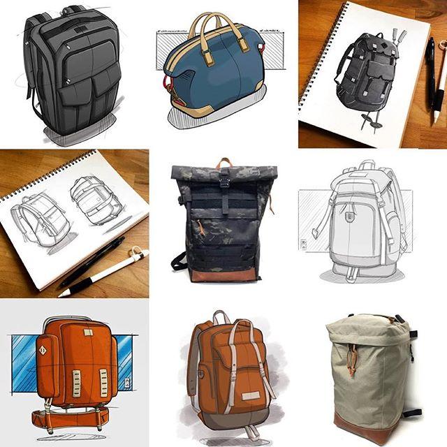 Happy New Years! 🎉 . . #bestnine2018 . #designer #sketchaday #industrialdesign #idsketching #designsketch #backpack #backpackdesign #hiking #hikingbackpack #drawing #fashion #id #productdesign #sketch #process #idsketching #sketching #sketchbook #illustration  #conceptsketch #ideation #bagdesign #design #softgoods