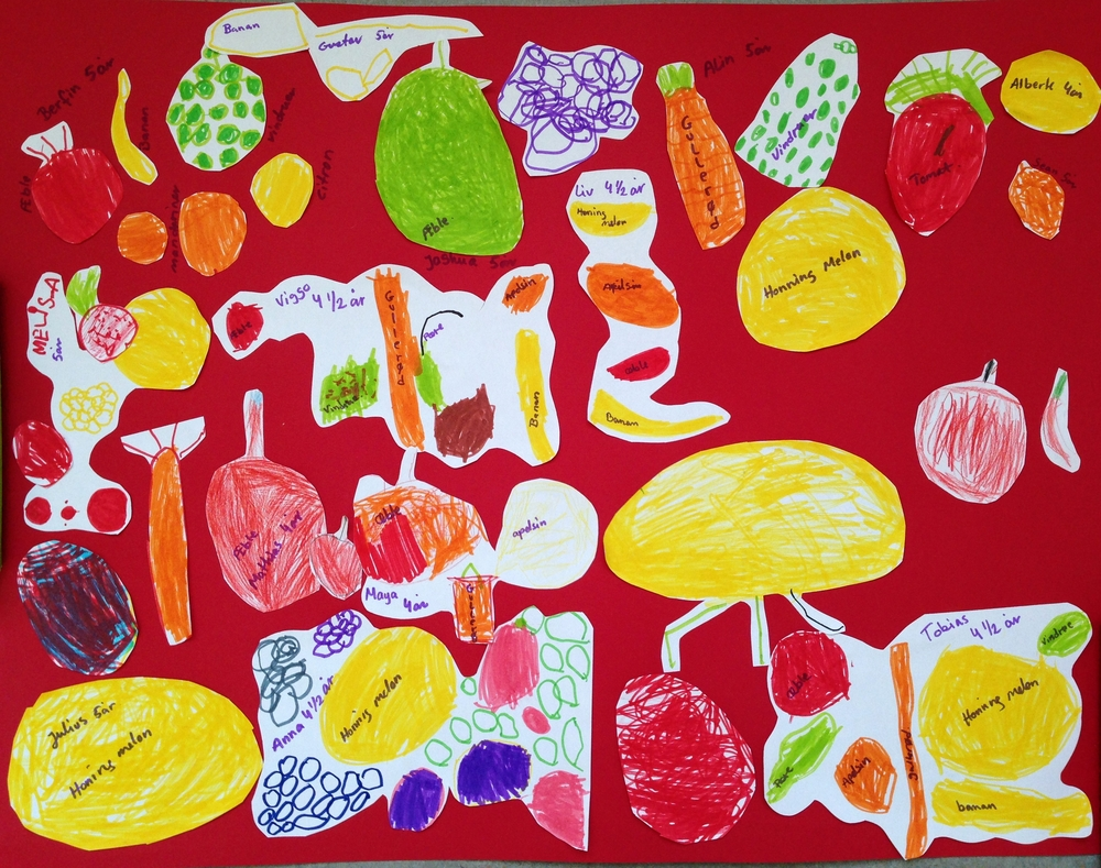This is an entry from a preschool in our competition for 50 packages of 3 fruit trees and 3 fruit bushes.