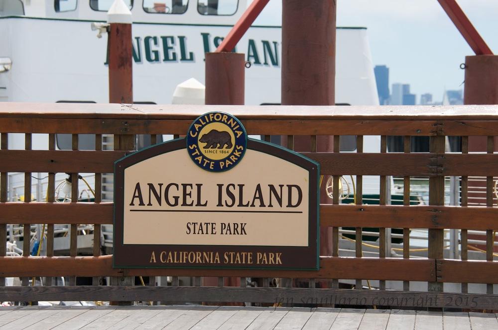 Angel Island Ferry Take-Off Platform