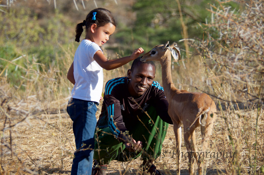 Daniela and her Gerenuk