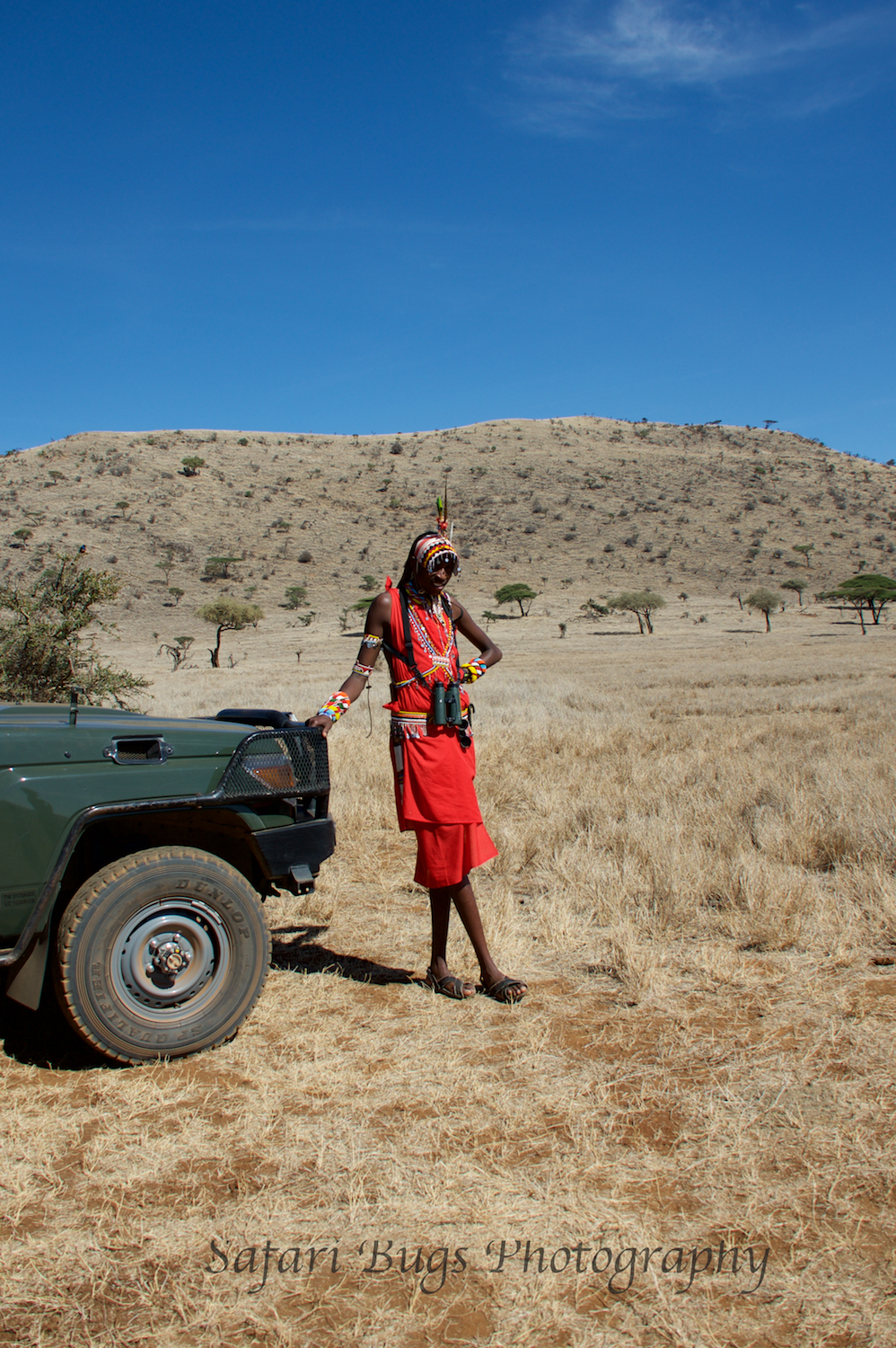 Francis, our Masai warrior guide.