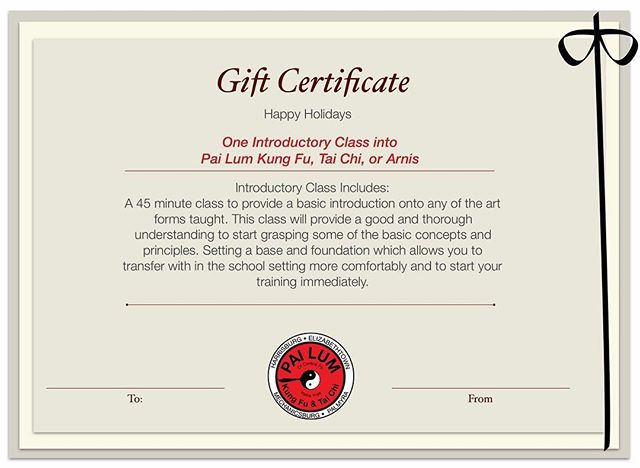 Print out free gift certificate!