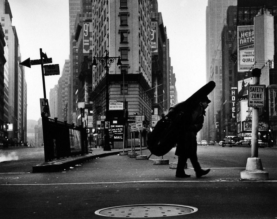 Stock, Dennis.Bill Crow,New York City.1958