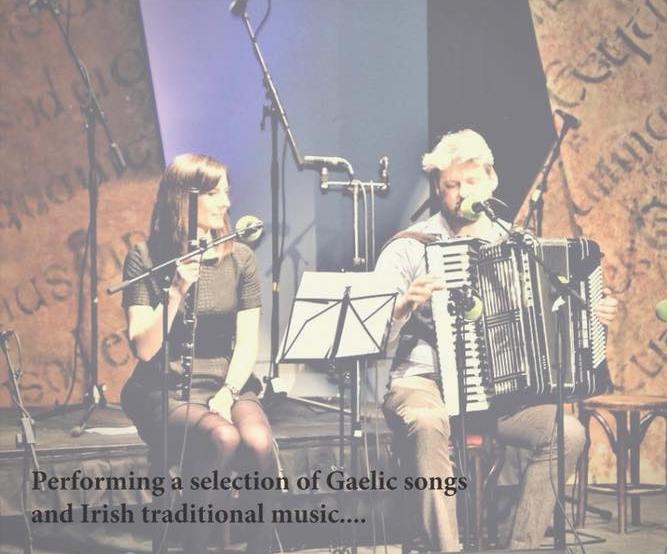 Dominic Mac Giolla Bhride and Frances Morton — Scholars Lounge Irish