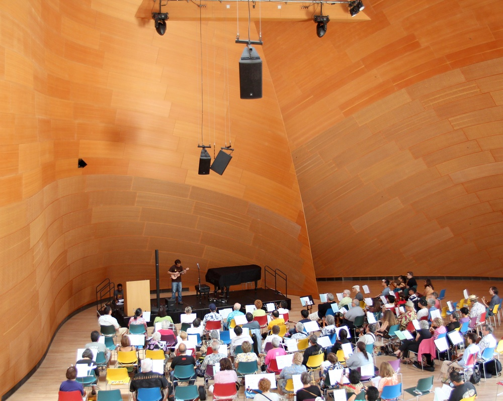 Disney Concert Hall Workshop
