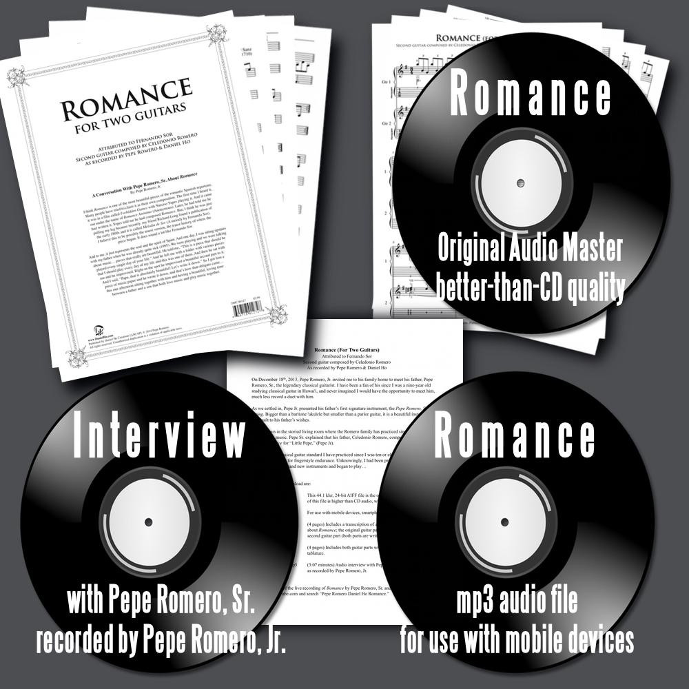 Romance (For Two Guitars) Digital Bundle
