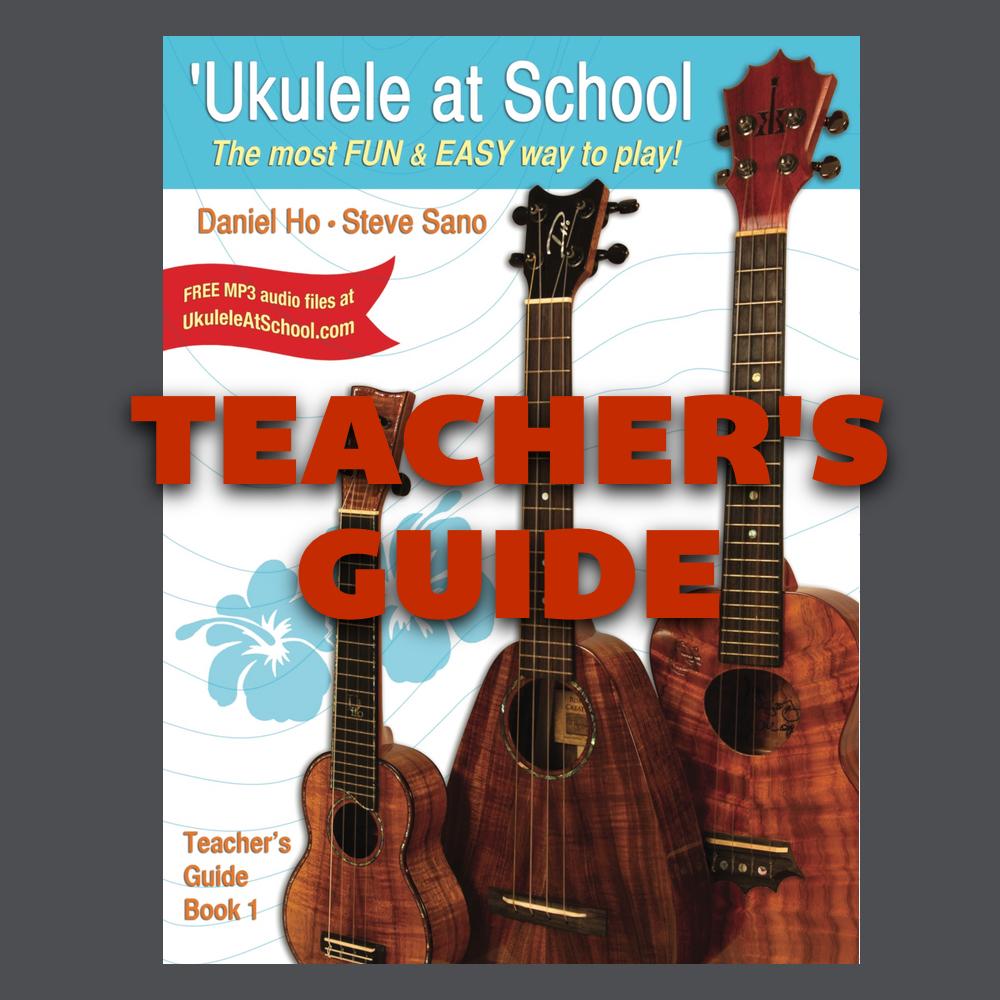 Guide Book: [BOOK] 'Ukulele At School Teacher's Guide, Book 1