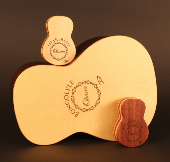 The Bongolele and Shakerlele by Ohana Ukuleles