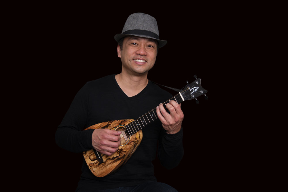 with Tiny Tenor Ukulele by Romero Creations