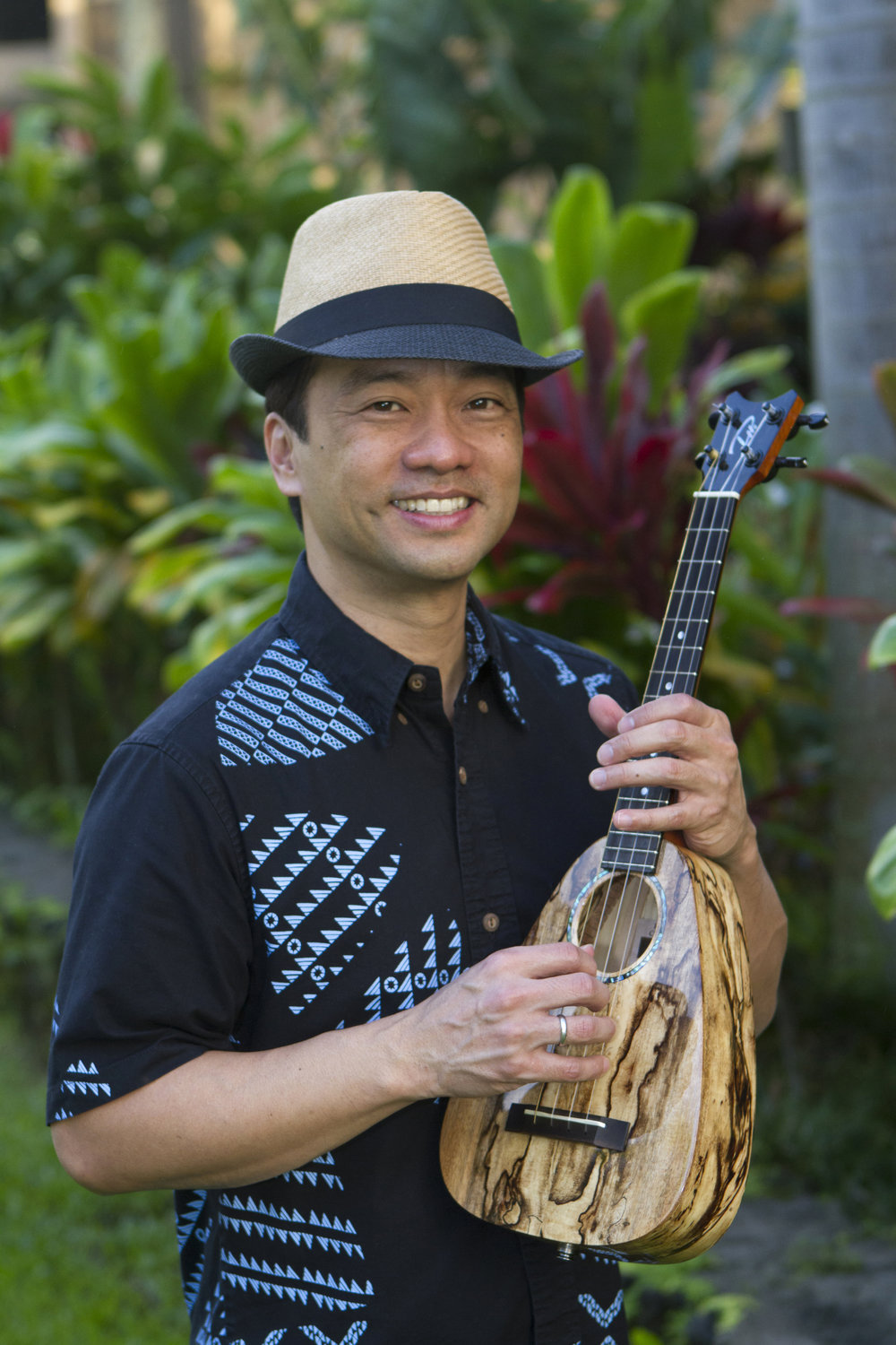 Daniel Ho with the Tiny Tenor 'Ukulele