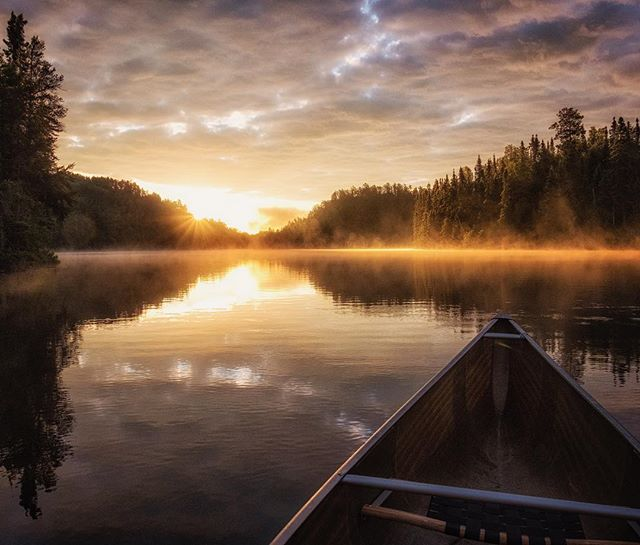 Sunrise. #minnesota #boundarywaters #fujifilm #northwoods #paddle #canoe
