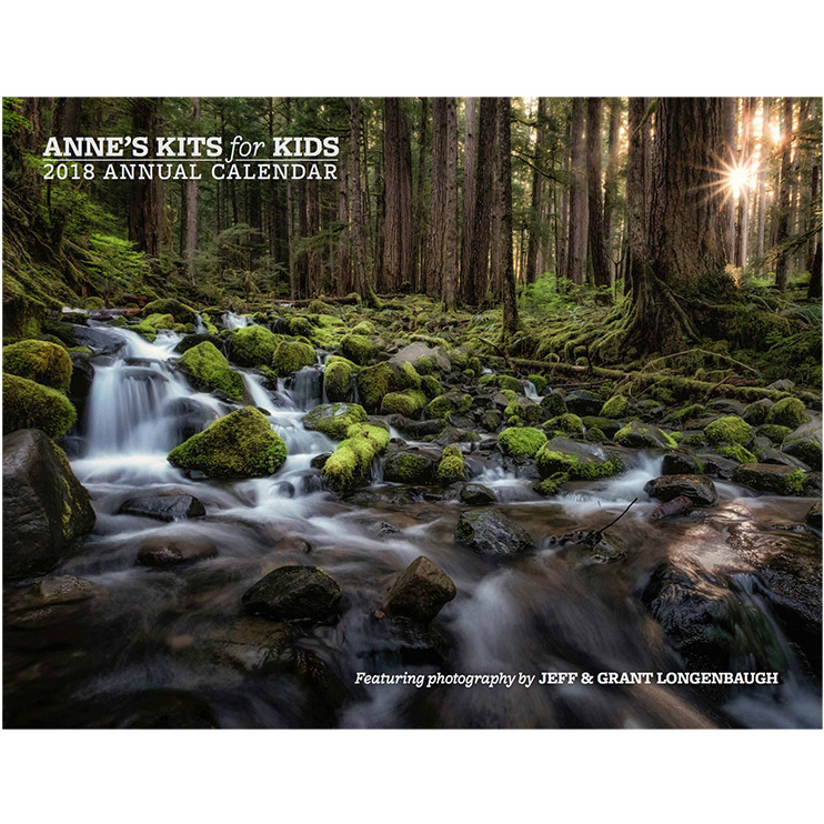 Anne's Kits for Kids Annual Calendar