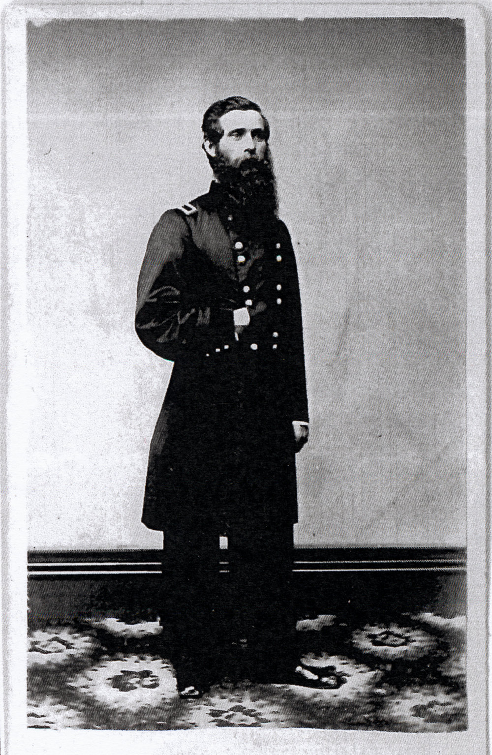 Maj Gen Byron Root Pierce, began the war as captain of Company K, 3rd Michigan Infantry