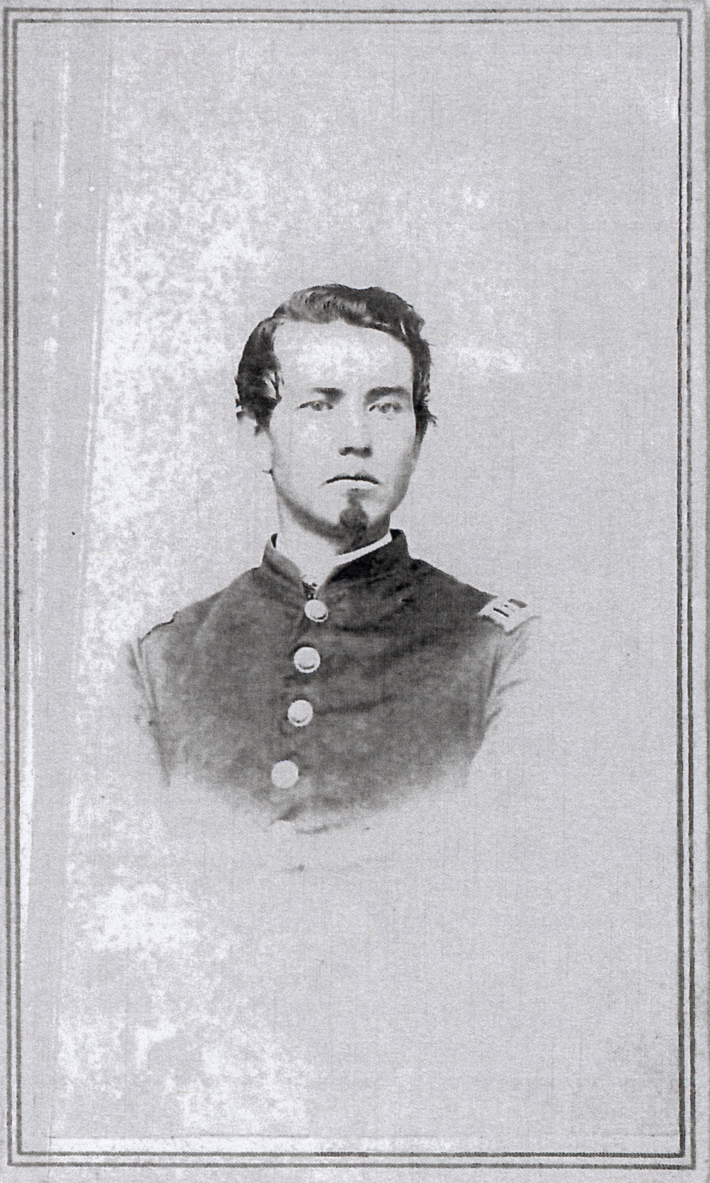 George Winans, captain of Company D