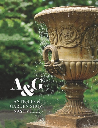 The Garden Vault is excited to announce we will exhibit at the 2018 Antiques & Garden Show of Nashville - February 2-8th. Visit us at booth H53.      Click here  to purchase tickets and learn more about the keynote speaker, design panel lecture topics and participants, garden designers and more!