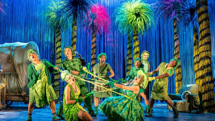 THE LORAX - OLD VIC - ASST. LIGHTING DESIGNER