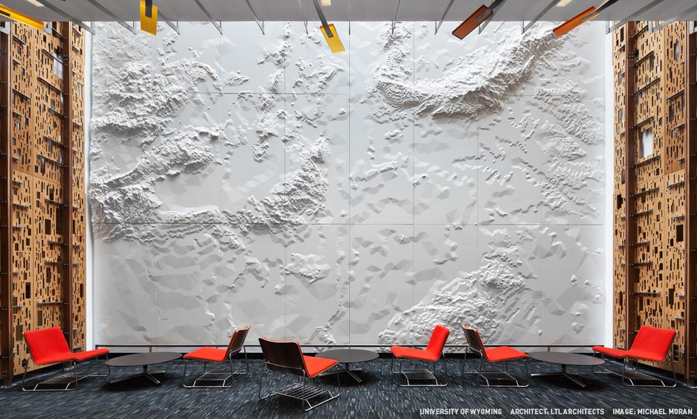 UNIVERSITY OF WYOMING ARCHITECT: LTL ARCHITECTS IMAGE: MICHAEL MORAN