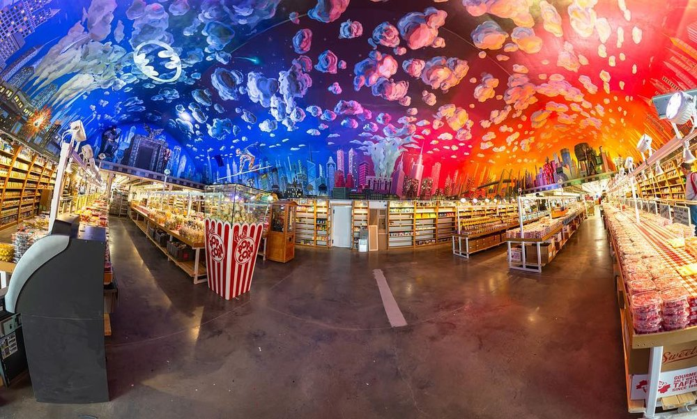 photo: Nathan Klok - Panoramic shot of the mural