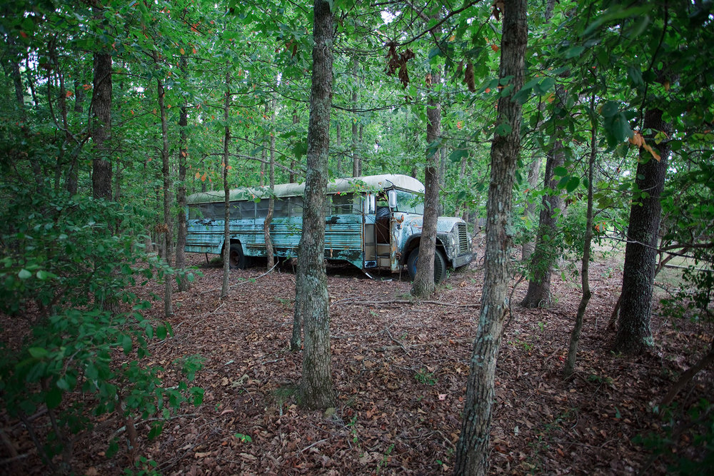 In 1971, Stephen and Ina May Gaskin led 300 followers in caravans of psychedelically painted school buses through 42 states from San Francisco to Tennessee. At the end of the tour The Farm was bought, and the The Farm Midwifery Center was established, one of the first out of hospital birth centers in the US. It was developed as a free midwifery service for women.