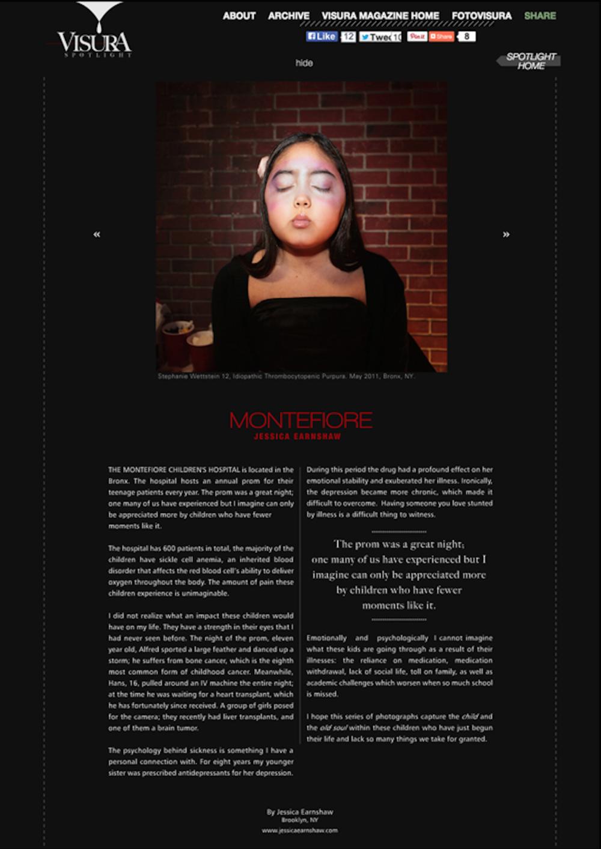 "Visura Magazine (Photo Gallery),  ""Montefiore Children's Prom"", Sept 11, 2011"