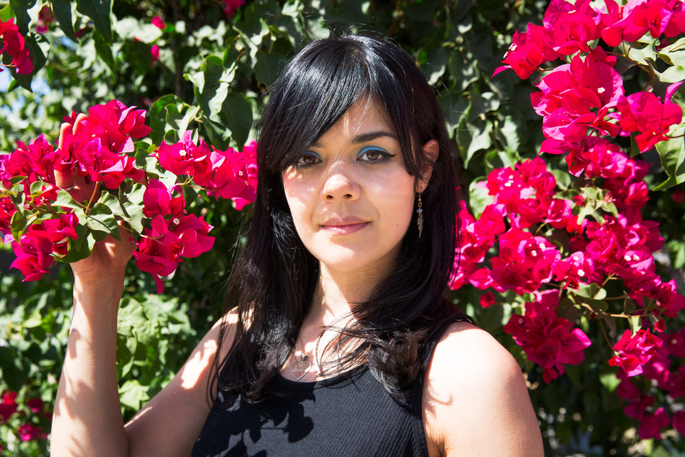 Natasha Khan of Bat for Lashes wears a locket that inspires the lyrics and songs for her album, 'The Bride.'