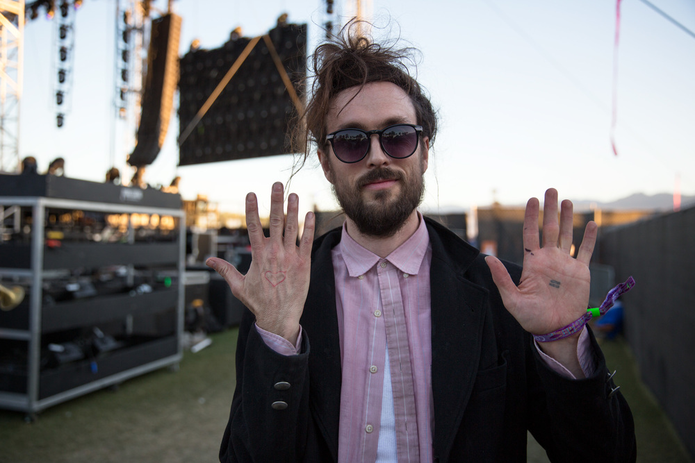 Alex Ebert of the  Edward Sharpe and The Magnetic Zeros