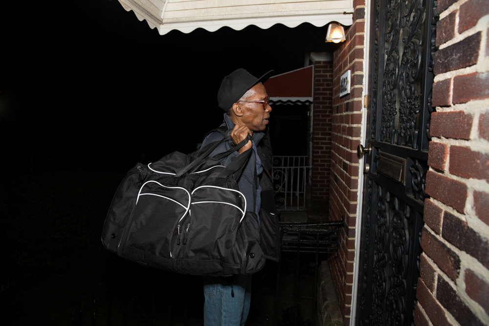Seconds after ringing the doorbell at the home of his mother, Willie Mae. Ronald had not seen his mother for 11 years in person and hadn't been inside this house since he was a teenager in Philadelphia back in the mid-'70s.