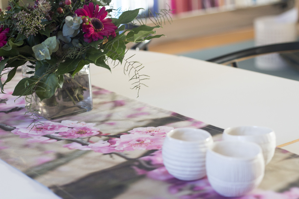 Cherry Blossom Coffee Cherry Blossoms Aalto Table II ...