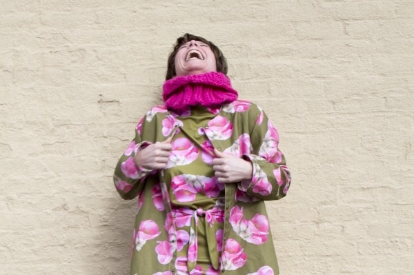 I laugh in the face of the freeze storm! Laugh, I tell you! (Also, I wear  this  Peruvian highland wool infinity scarf..