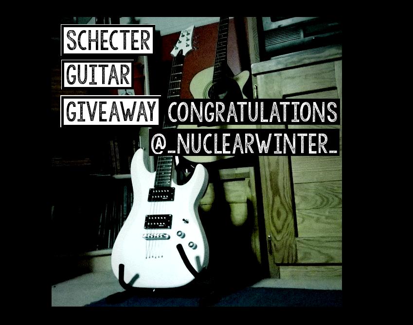 Schecter Guitar Giveaway
