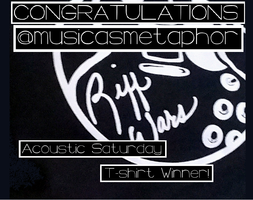 Acoustic Saturday Tee Giveaway