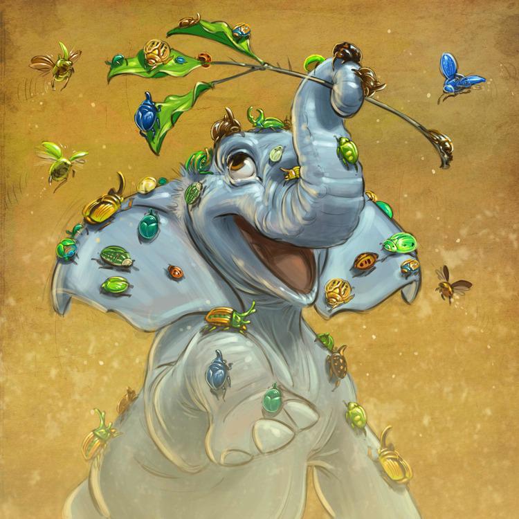 Aaron-Blaise-Concept-Art-Character-Legend-Tembo-Bugs.jpg