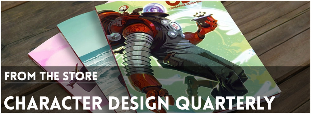 Character Design Quarterly Magazine : Character design references