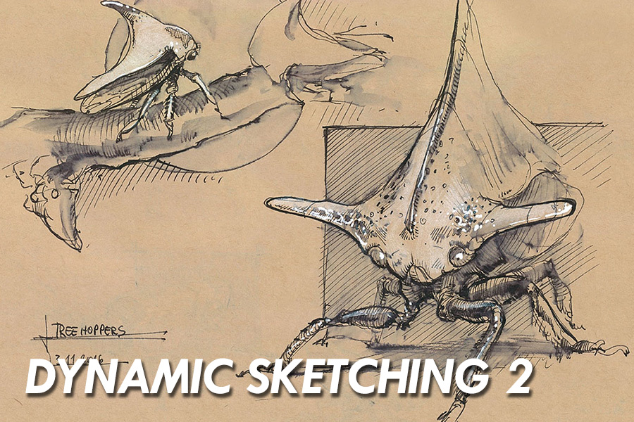 - Foundational drawing is the most important aspect of being a designer. This class is designed to take the lessons from Dynamic Sketching 1, and further the practice of applying those skills in onsite drawing while creating new concepts from particular themes..