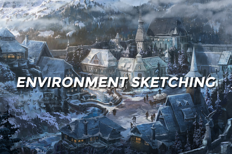 - This class will focus on creating compelling environments with a strong and consistent design language. Students will learn a process from start to finish that will enable them to generate and iterate on their ideas to find the best image for the story.