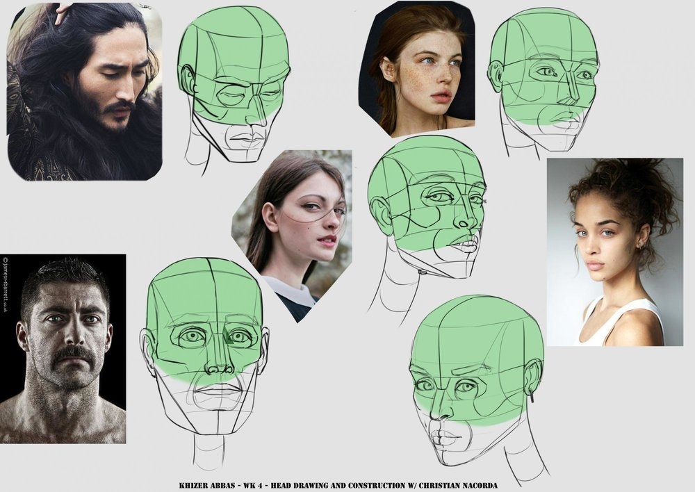 Head Drawing and Construction -