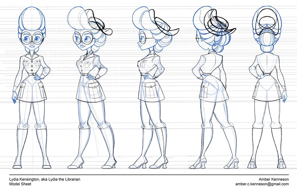 Character Design for Production -