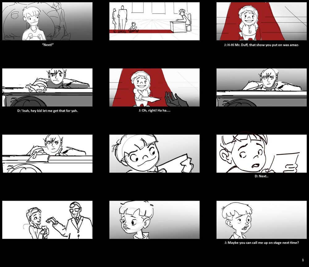 Storyboarding for Animation -