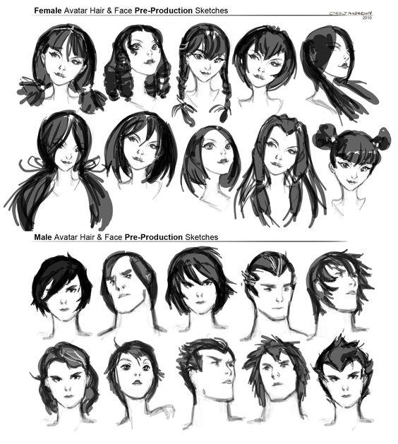 https://www.pinterest.ie/characterdesigh/character-anatomy-hair/