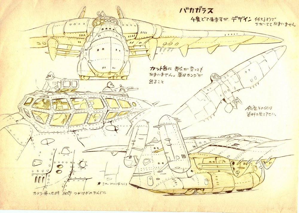 Nausicaa Of The Valley Of The Wind Map.Character Design References